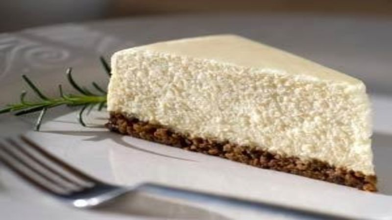 No Cream No Condensed Milk Cheese Cake