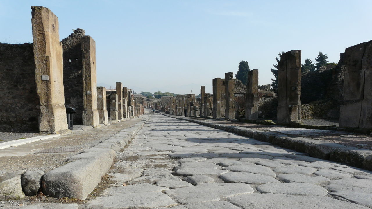 Roads In Ancient Rome