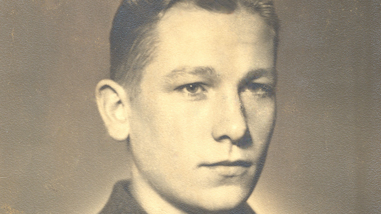 Берт Траутманн в 17 лет