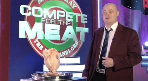 al murray compete for the meet dave
