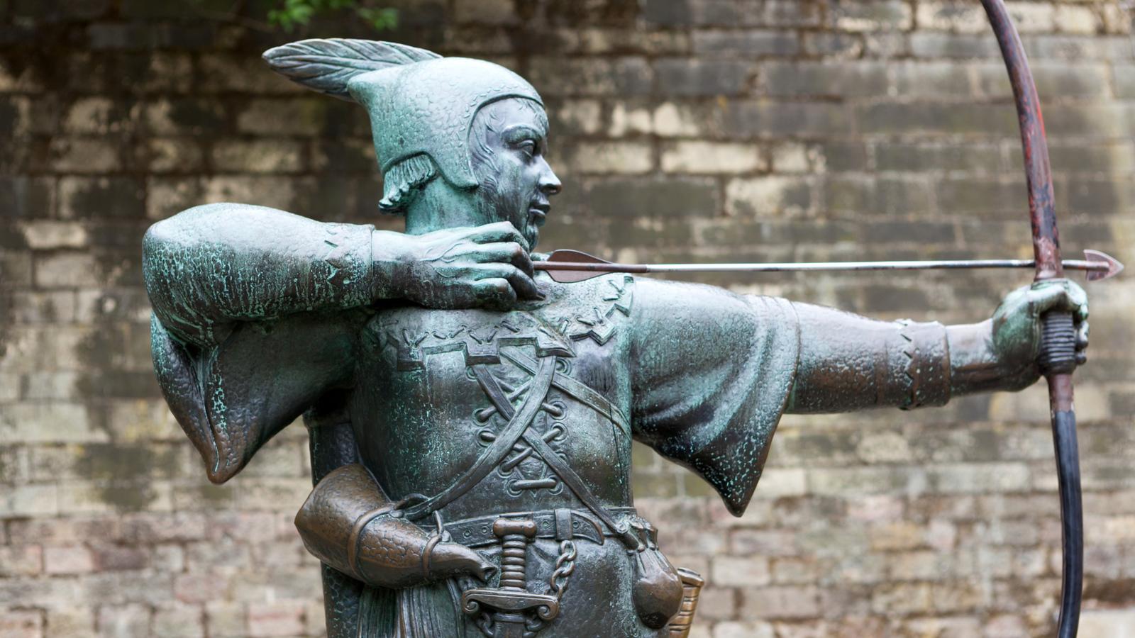historical figures  robin hood