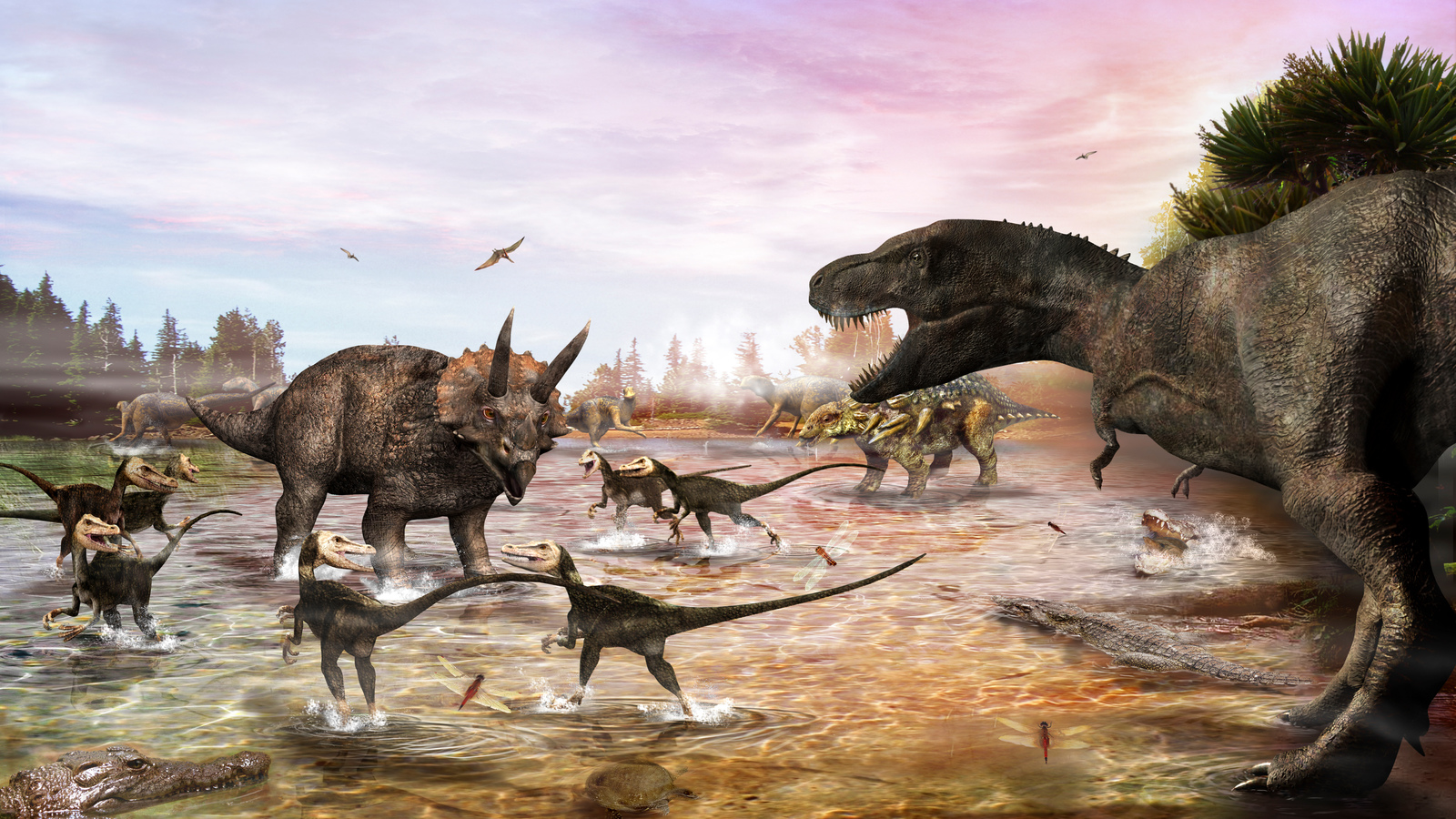 examining the cretaceous paleogene extinction event The cretaceous ended with a mass extinction, the cretaceous–paleogene extinction event, in which many groups, including non-avian dinosaurs, pterosaurs the end of the cretaceous is defined by the abrupt cretaceous–paleogene boundary, the name cretaceous was.