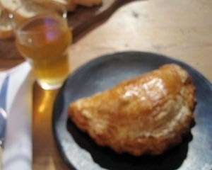Bacon and leek pasty | Good Food Channel