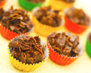 Chocolate Cornflake Cakes Good Food Channel