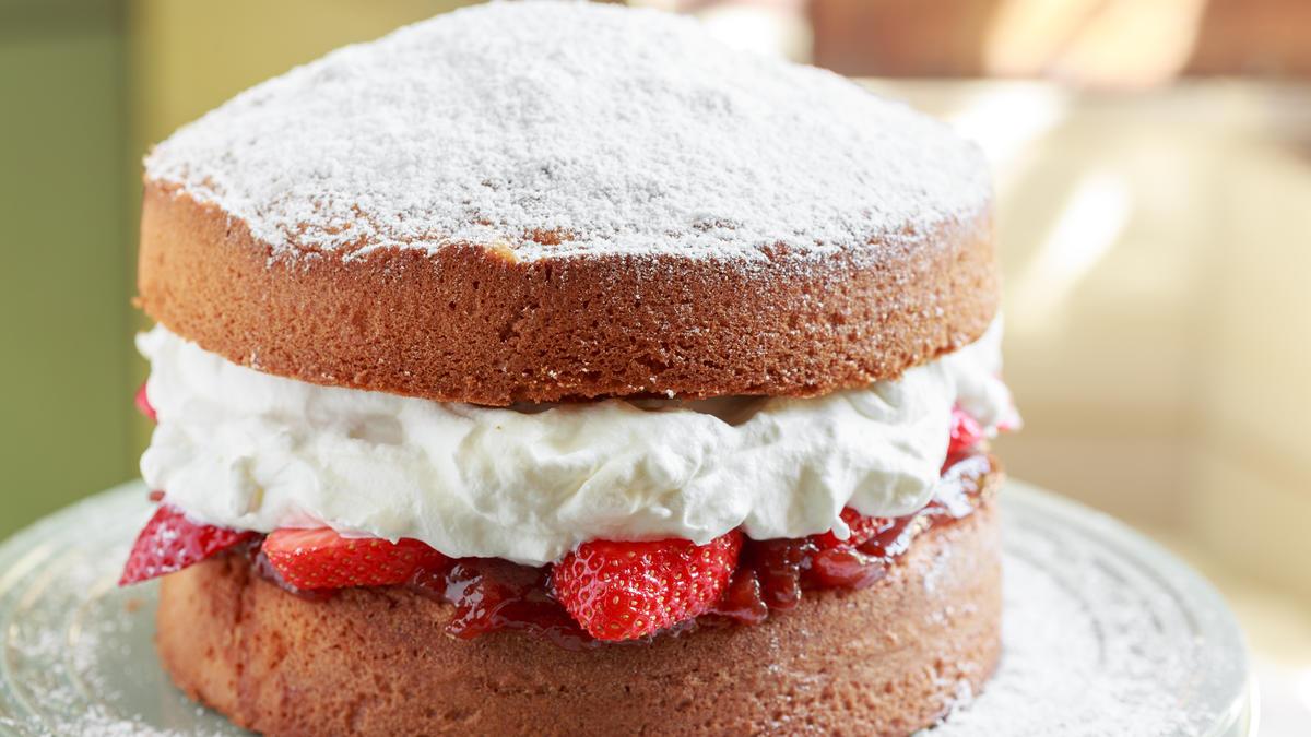 Cornflour Sponge Cake Recipe