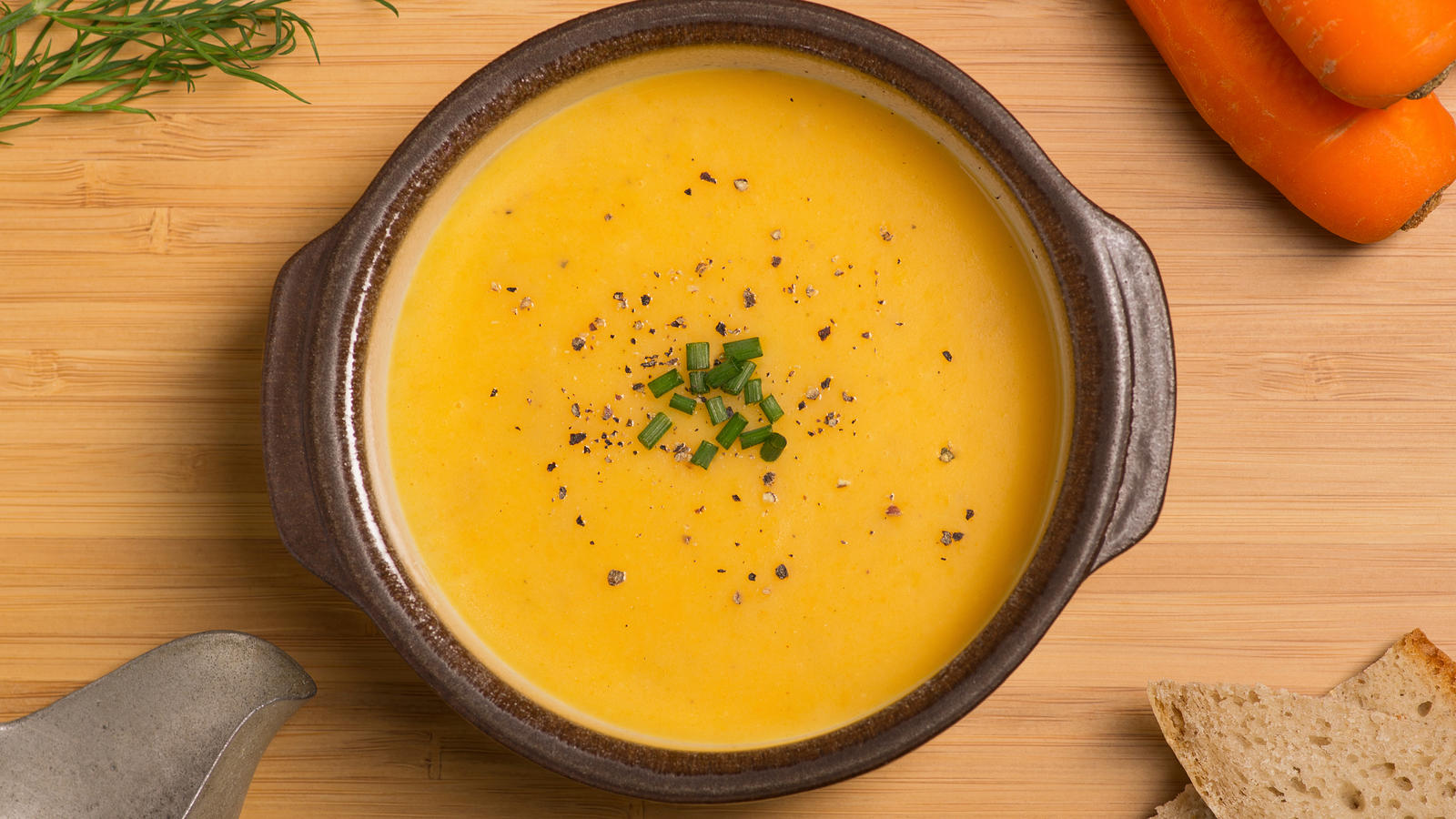 Cheesy pumpkin soup good food channel parsnip and carrot soup trecawl forumfinder Choice Image