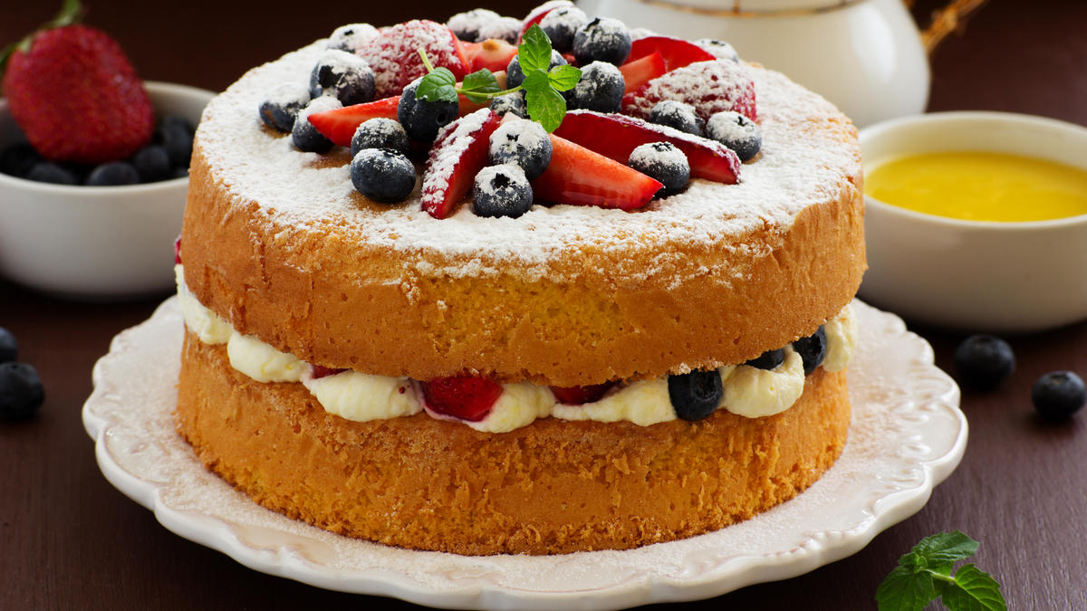 Fluffy Sponge Cake Recipe Bbc