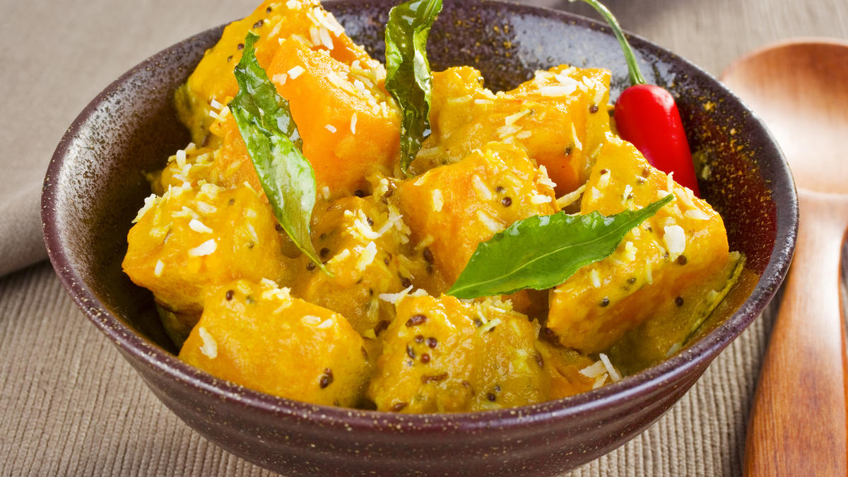 Spicy butternut curry good food channel forumfinder Image collections