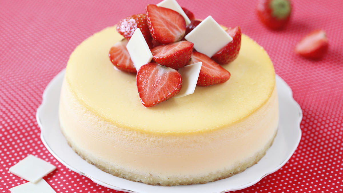 Decadent White Chocolate Cheesecake Good Food Channel
