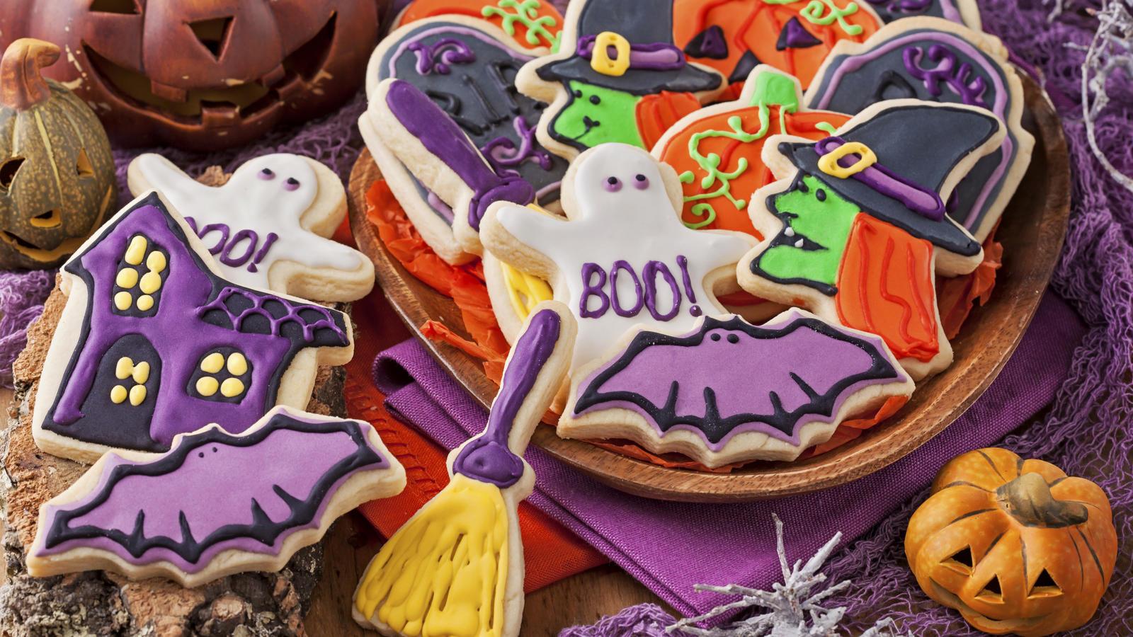 Spooky Halloween Cookies Good Food Channel
