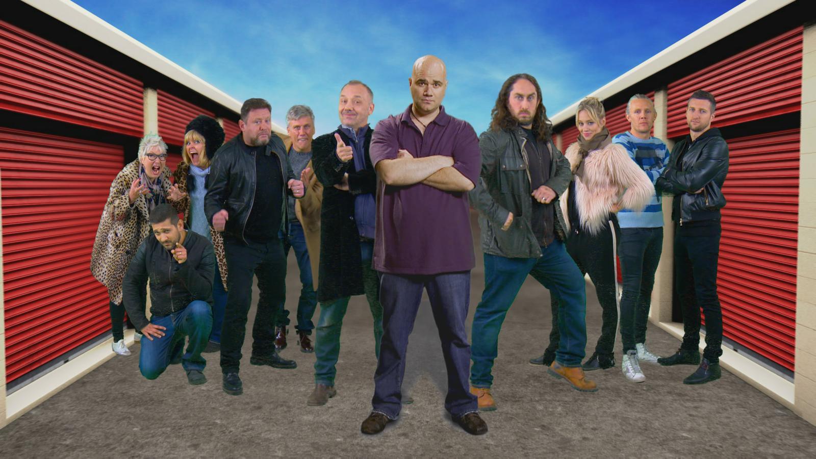 Dave Bids On Storage Hunters Uk Celebrity Special News Uktv