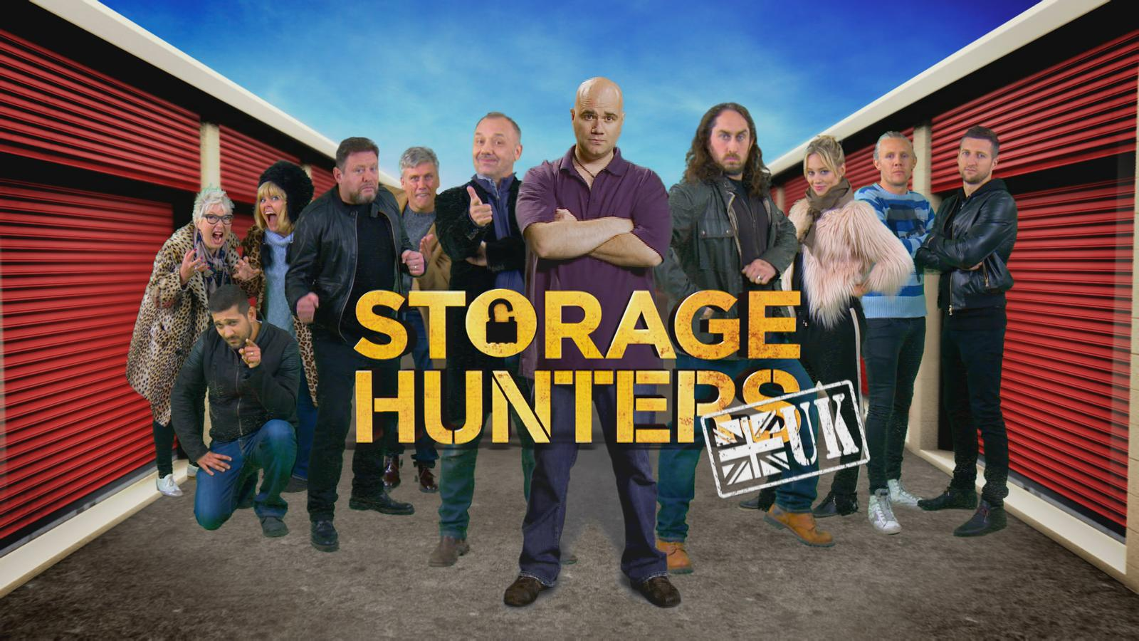 Storage Hunters Uk Celebrity Special Dave Channel