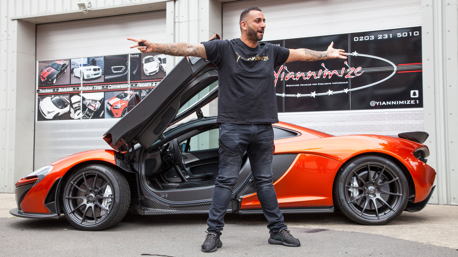 5 Celebrities show off their brand new cars