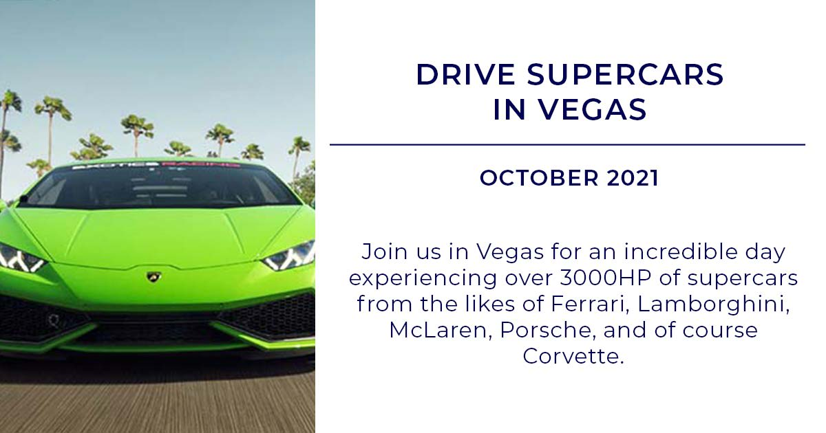 Drive A Supercar In Vegas Ultimate Driving Tours