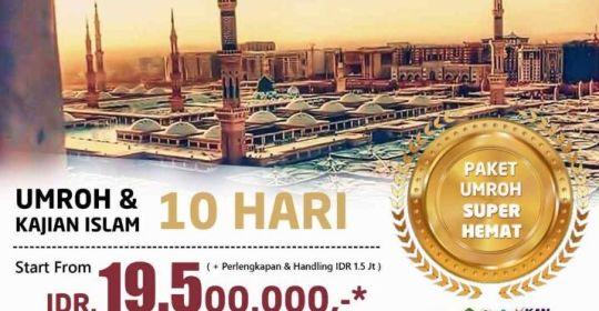 Paket Super Hemat Umroh & Kajian Islam