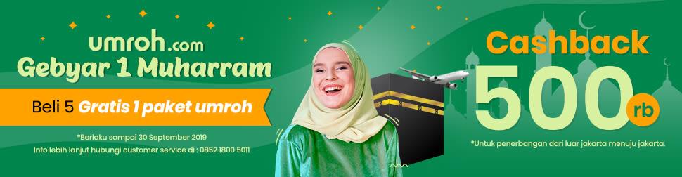 Dapatkan Promo Umroh 2019 Murah Hanya di Umroh.com 2