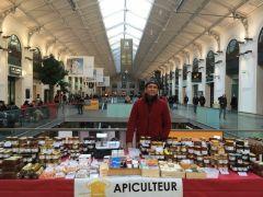 Apiculteurs en Gare St Lazare