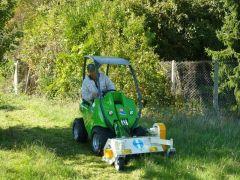 On a acheté un mini tracteur