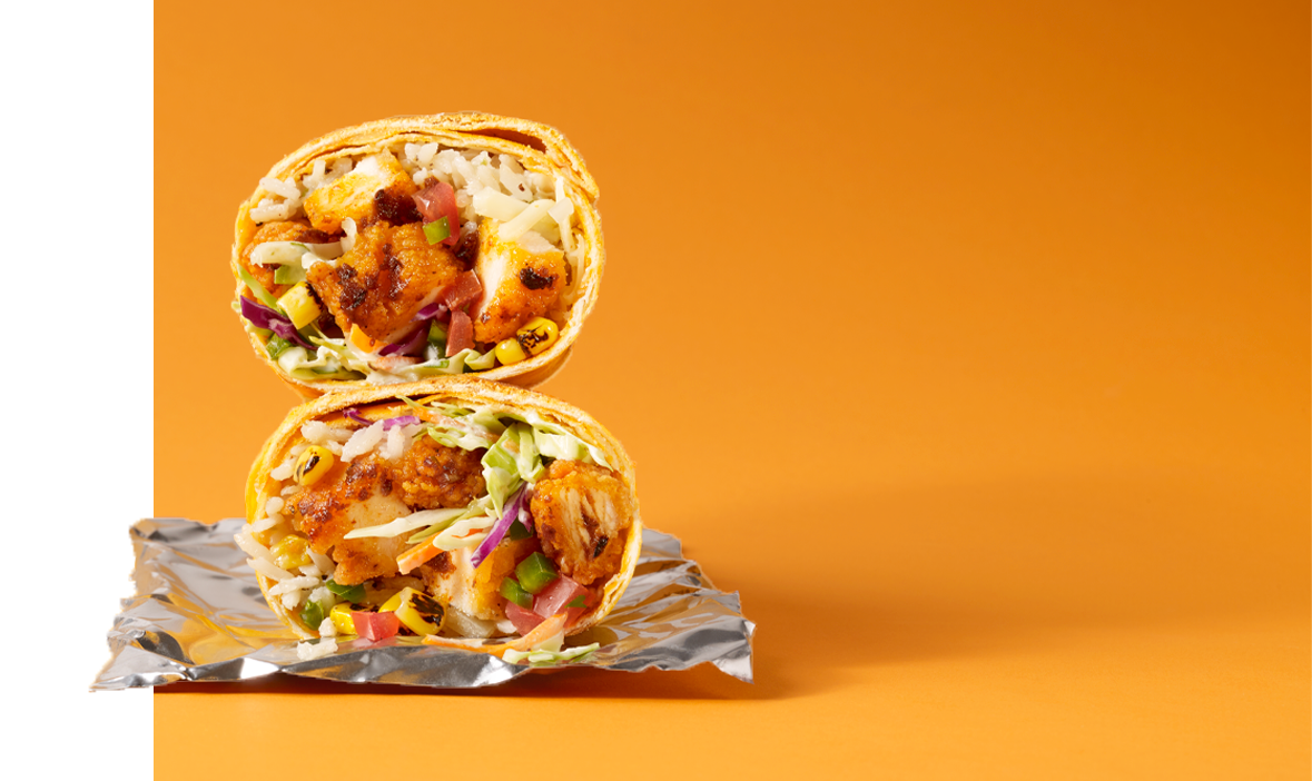 Nashville Hot Chicken Burrito