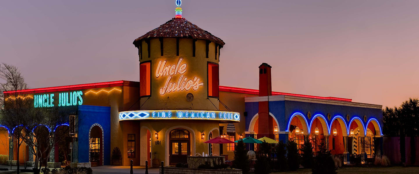 Mexican Restaurant Grapevine - Uncle Julio's