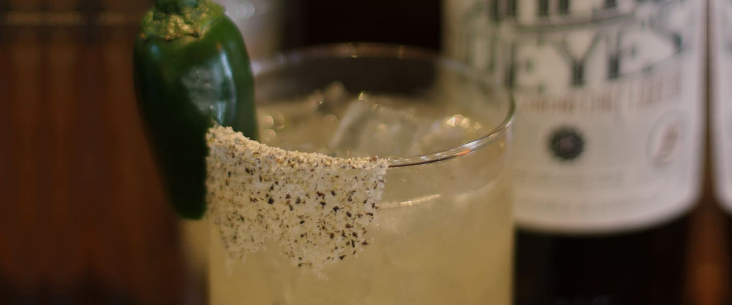 The Bold & Spicy El Jefe Margarita