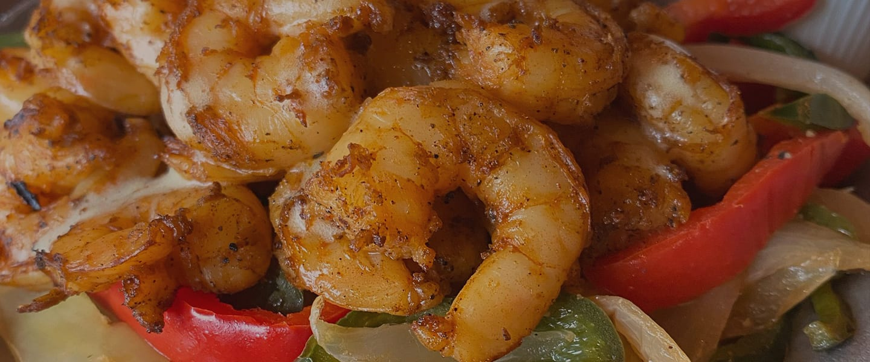 Summer Shrimp Fajitas