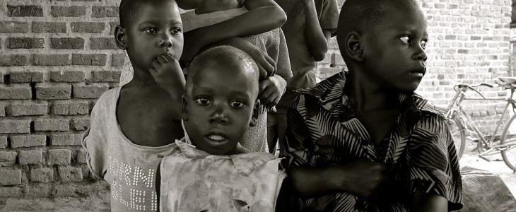 poverty stricken children