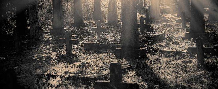 Death, grave, tombstones