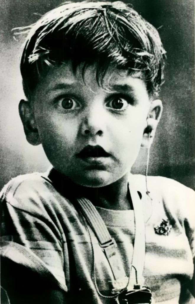 Harold Whittles Hearing Sound For The First Time, 1974.