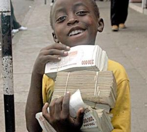 100 trillion Zimbabwe dollars
