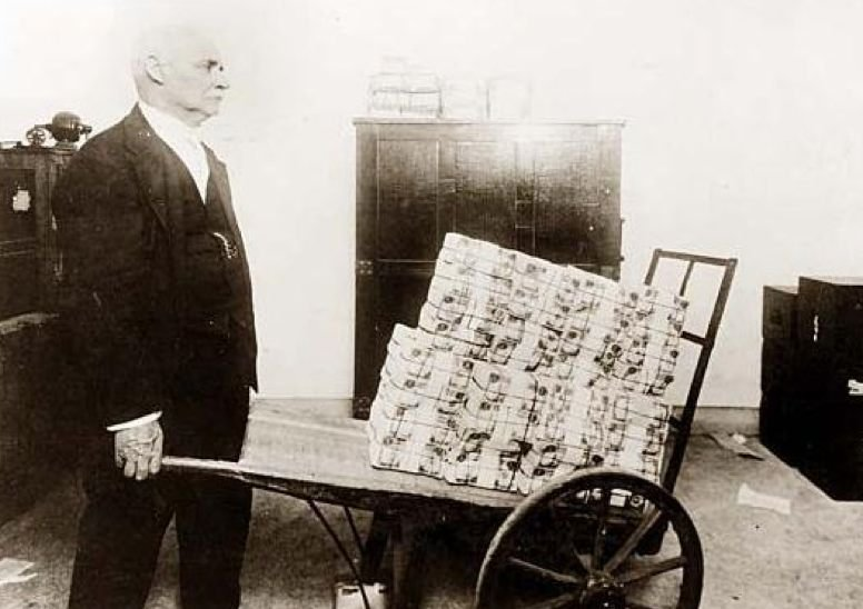 hyperinflation Germany 1923