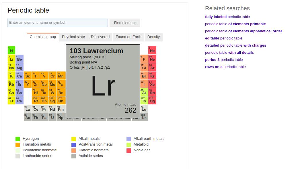 lr element Bing