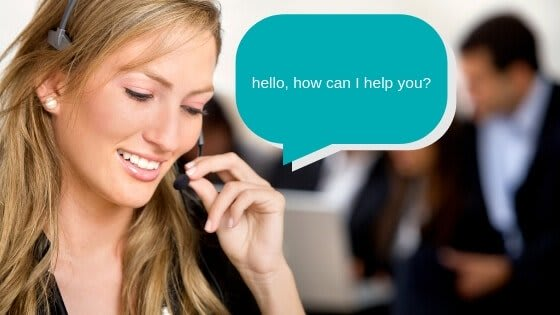 how does an answering service work