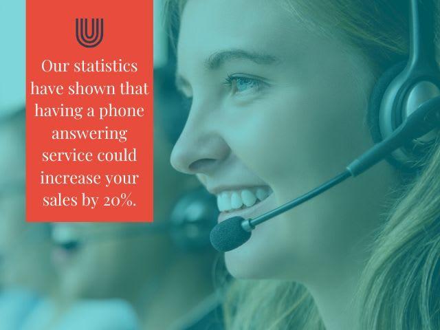 Unicom´s answering service statistics