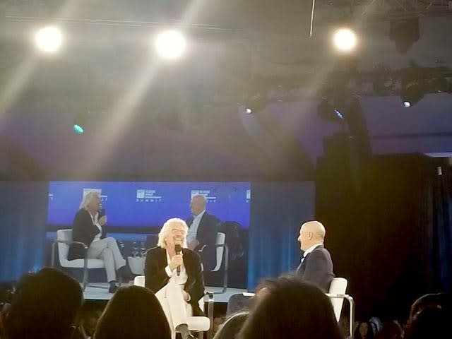Richard Branson at Goldman Sach's Businesses Summit