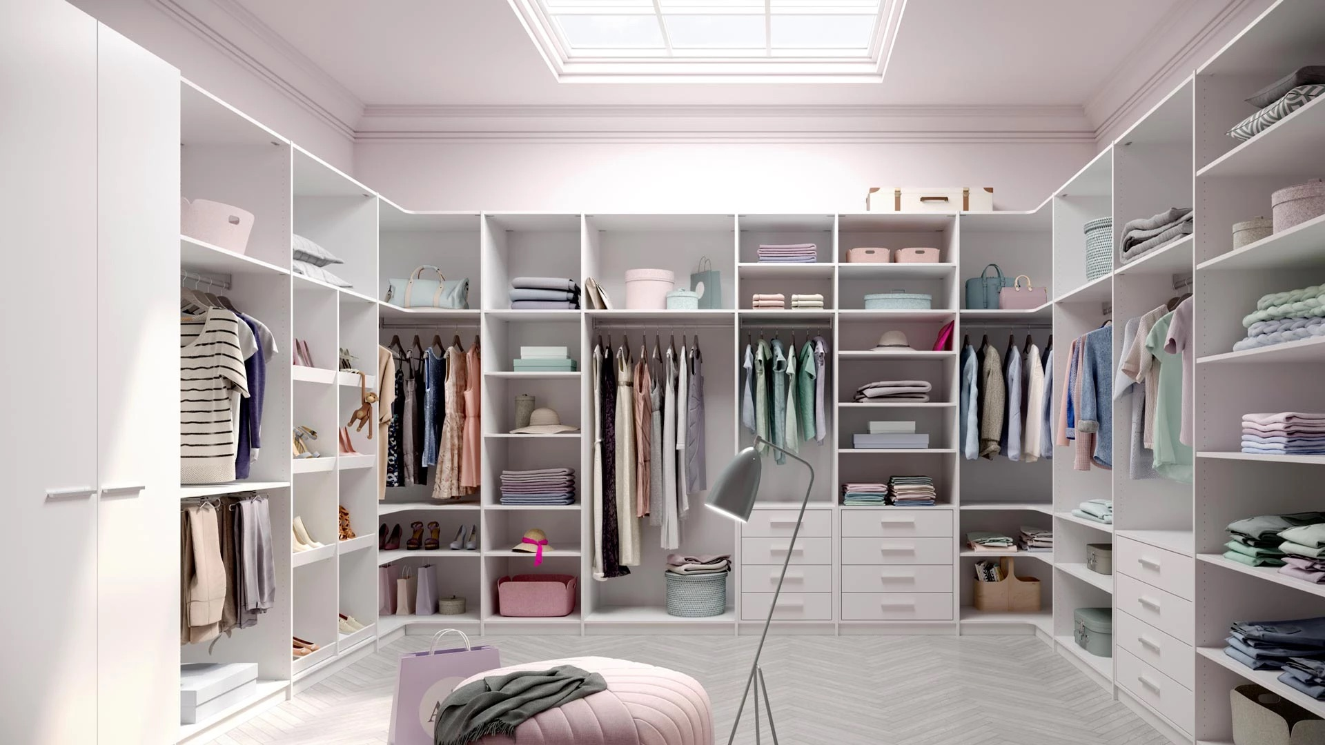 Garderob i Stockholm