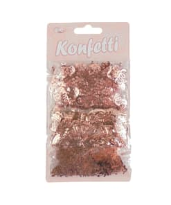"Konfetti-Mix ""Happy Birthday"" roségold"