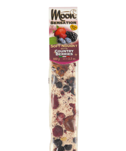 "Moon Sensation Softnougat-Riegel ""Country Berries"" 100 g"