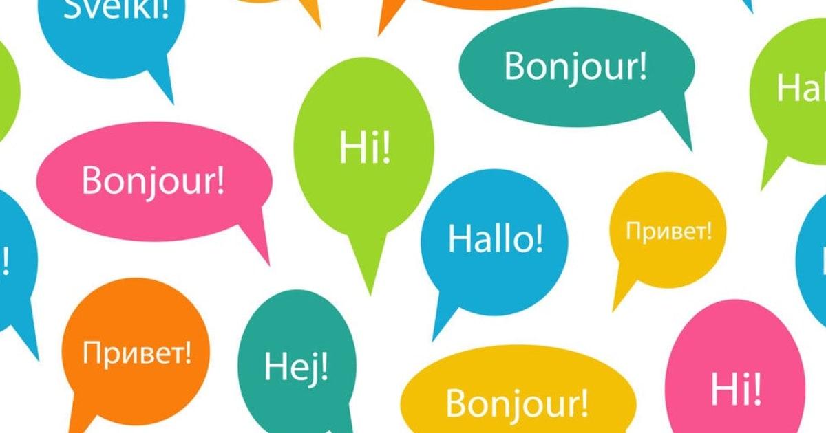 Ciao in tutte le lingue straniere