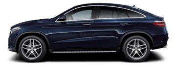 Rent Mercedes GLC Coupe in Europe