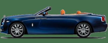 Alquiler de Rolls Royce Dawn en Europa