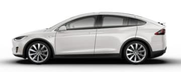 Rent Tesla Model X 100D in Europe