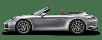 Aluguel Porsche Carrera S Cabrio na Europa