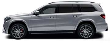 Rent Mercedes GLS in Europe