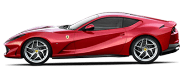 Rent Ferrari 812 Superfast in Europe