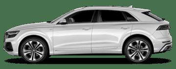 Rent Audi Q8 in Europe