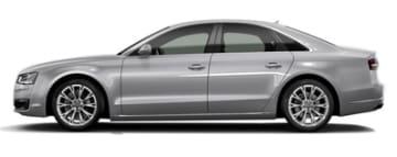 Rent Audi A8 in Europe