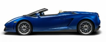 Rent Lamborghini Gallardo Spyder in Europe
