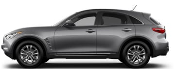 Rent Infiniti QX70 in Europe