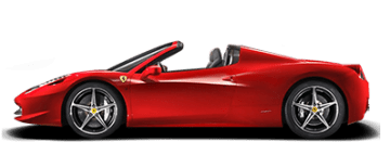 Rent Ferrari 458 Spider in Europe